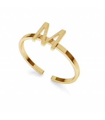 Srebrny pierścionek z literką My RING™, srebro 925