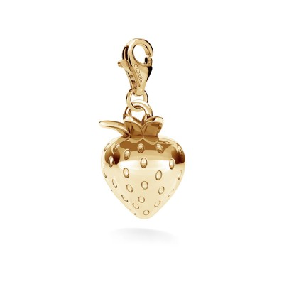 TRUSKAWKA srebrny charms zawieszka beads 925