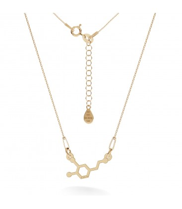 Gold necklace dopamine 14k