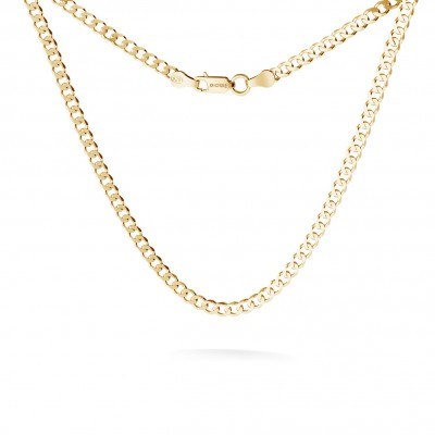 SILVER CHAIN NECKLACE CURB CHOKER 925