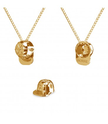 Cap girl necklace 925
