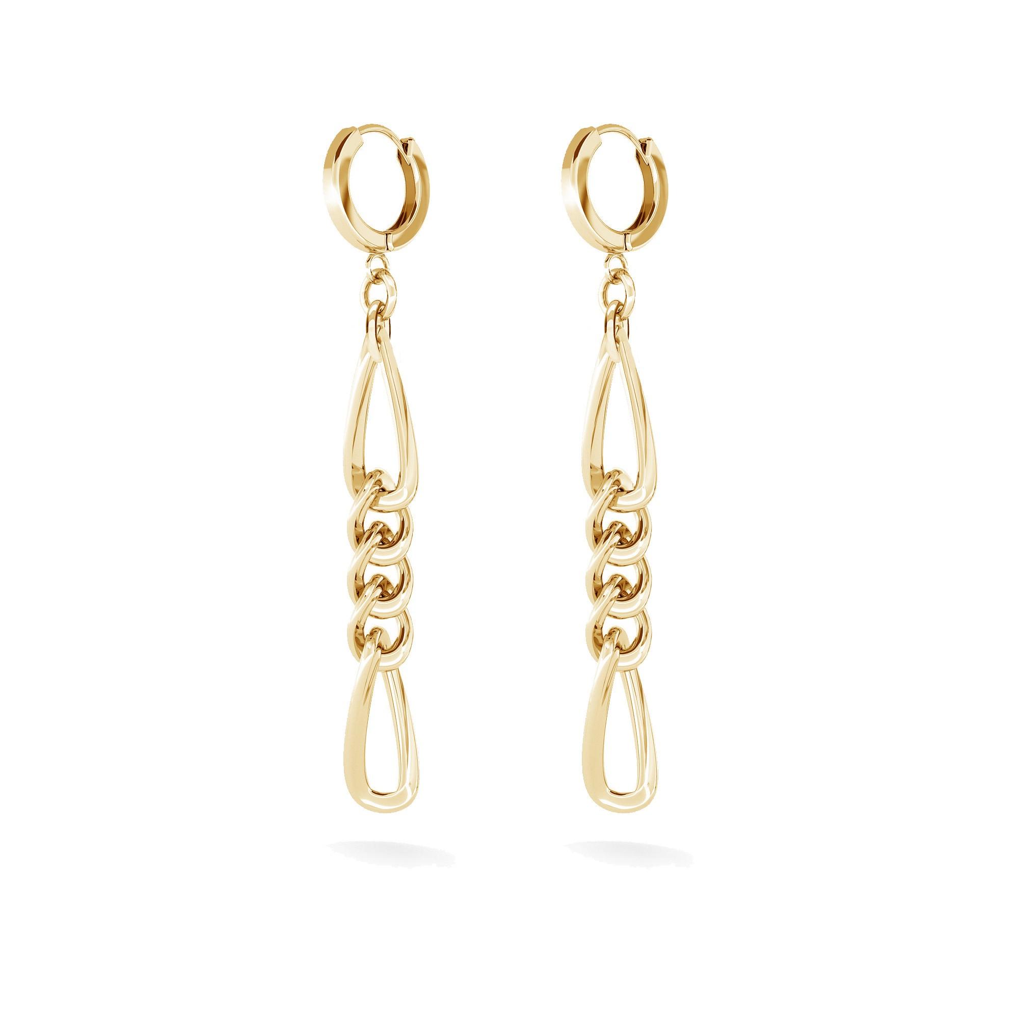 Earring - shells, MON DÉFI sterling silver 925