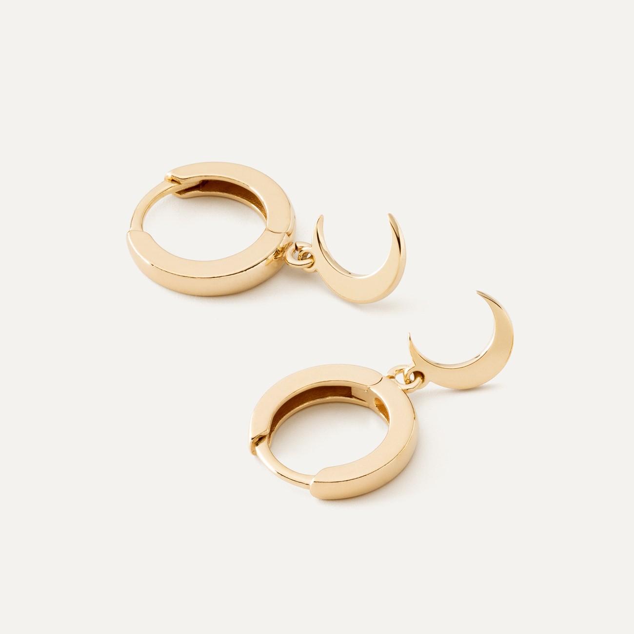 Lightning earrings sterling silver 925