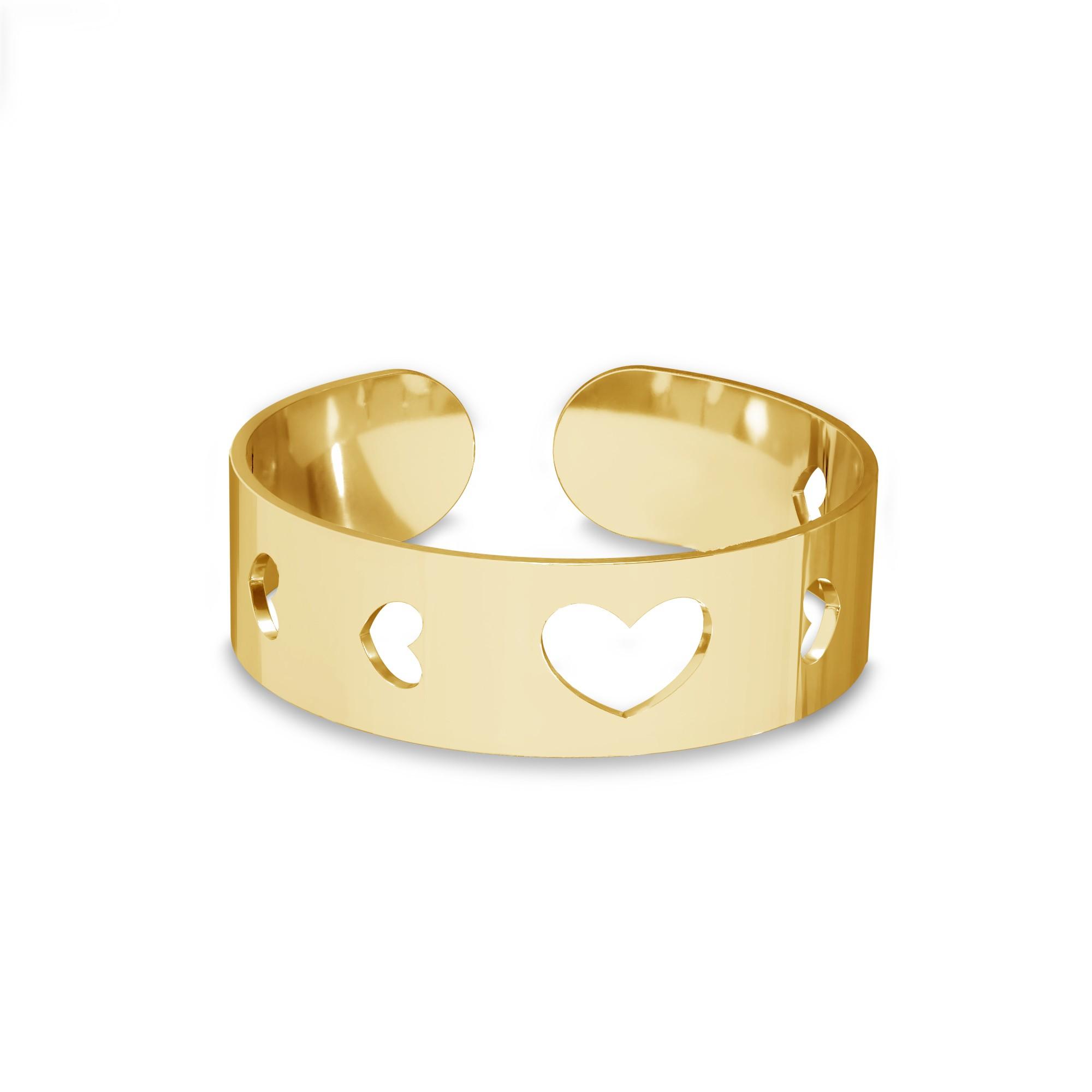 Srebrny pierścionek na początek palca z sercem, srebro 925