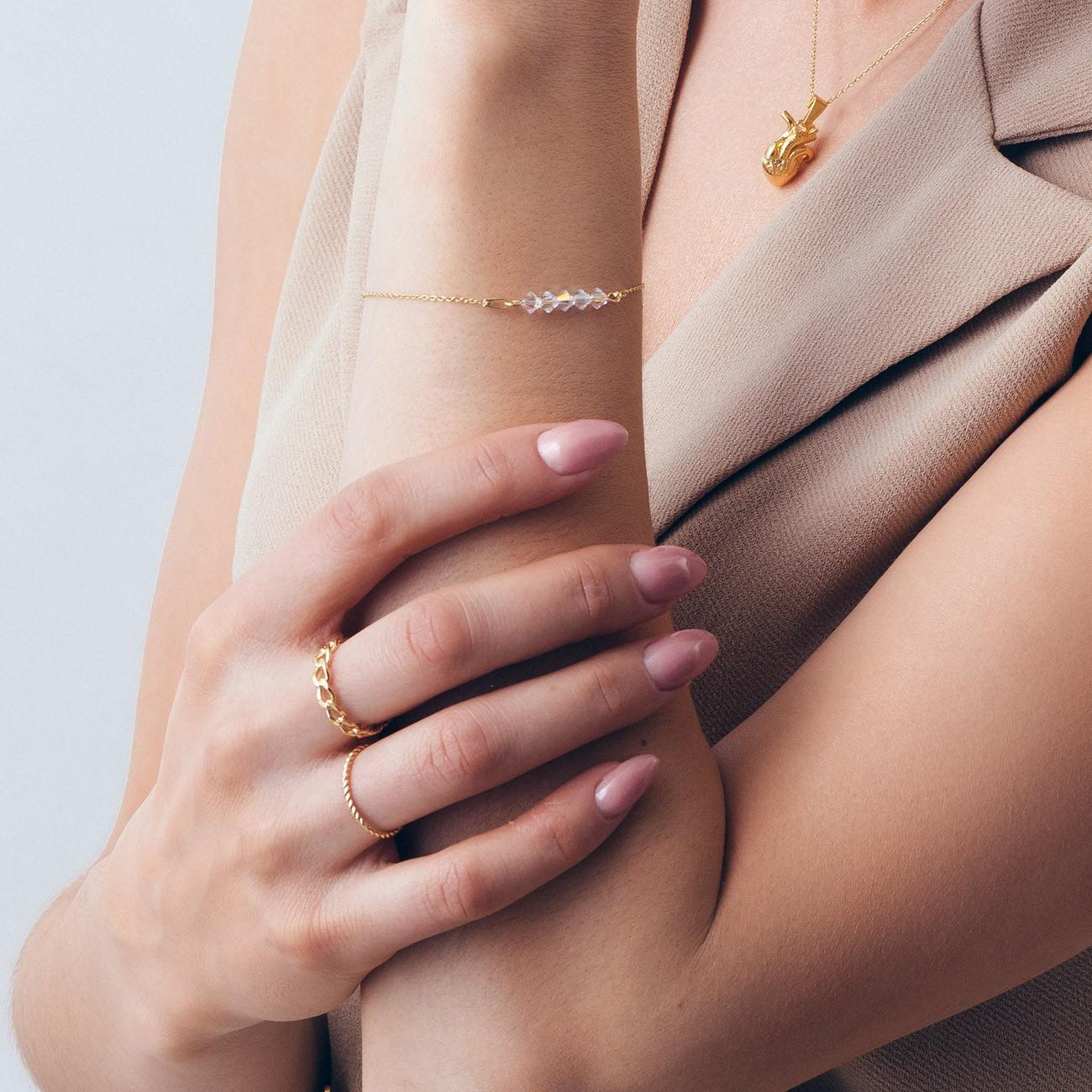 Armband kugel 4mm