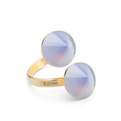 Ring mit Natur stein, silber 925