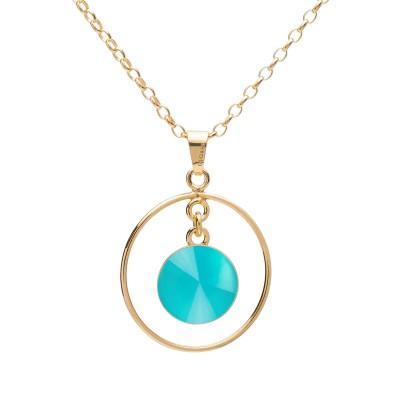Halskette mit natursteine sterlingsilber 925