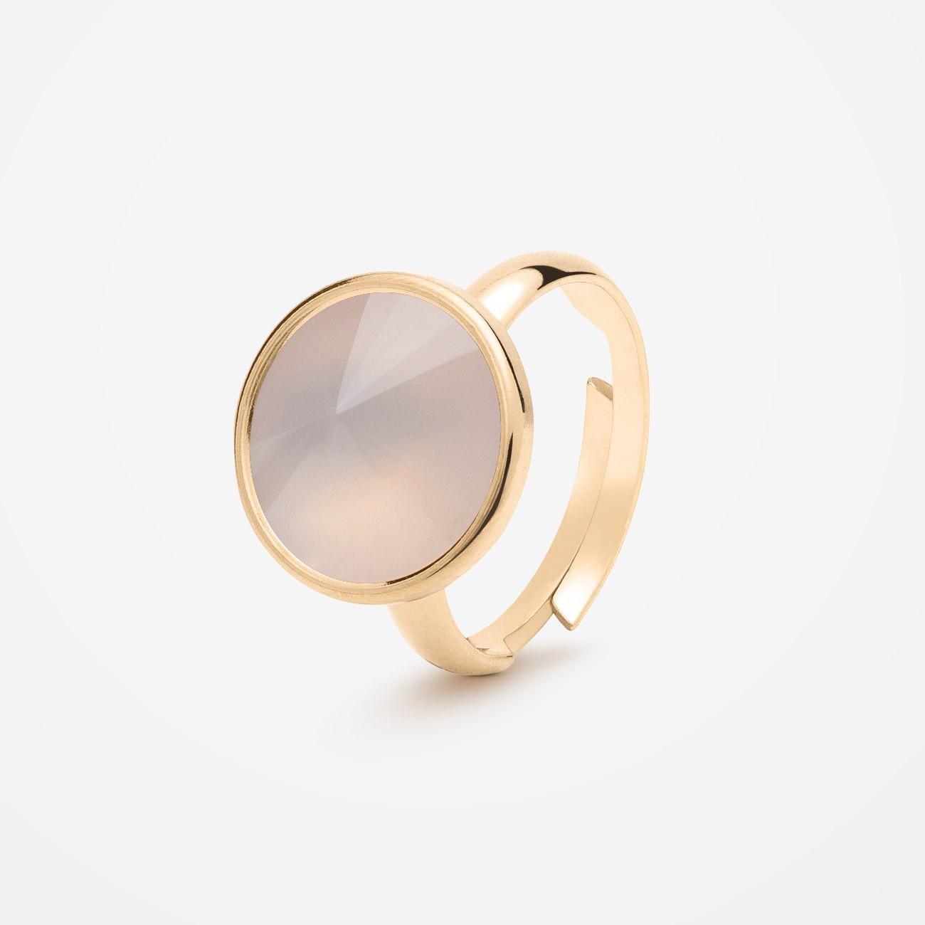 Srebrny pierścionek z kwarcem, srebro 925