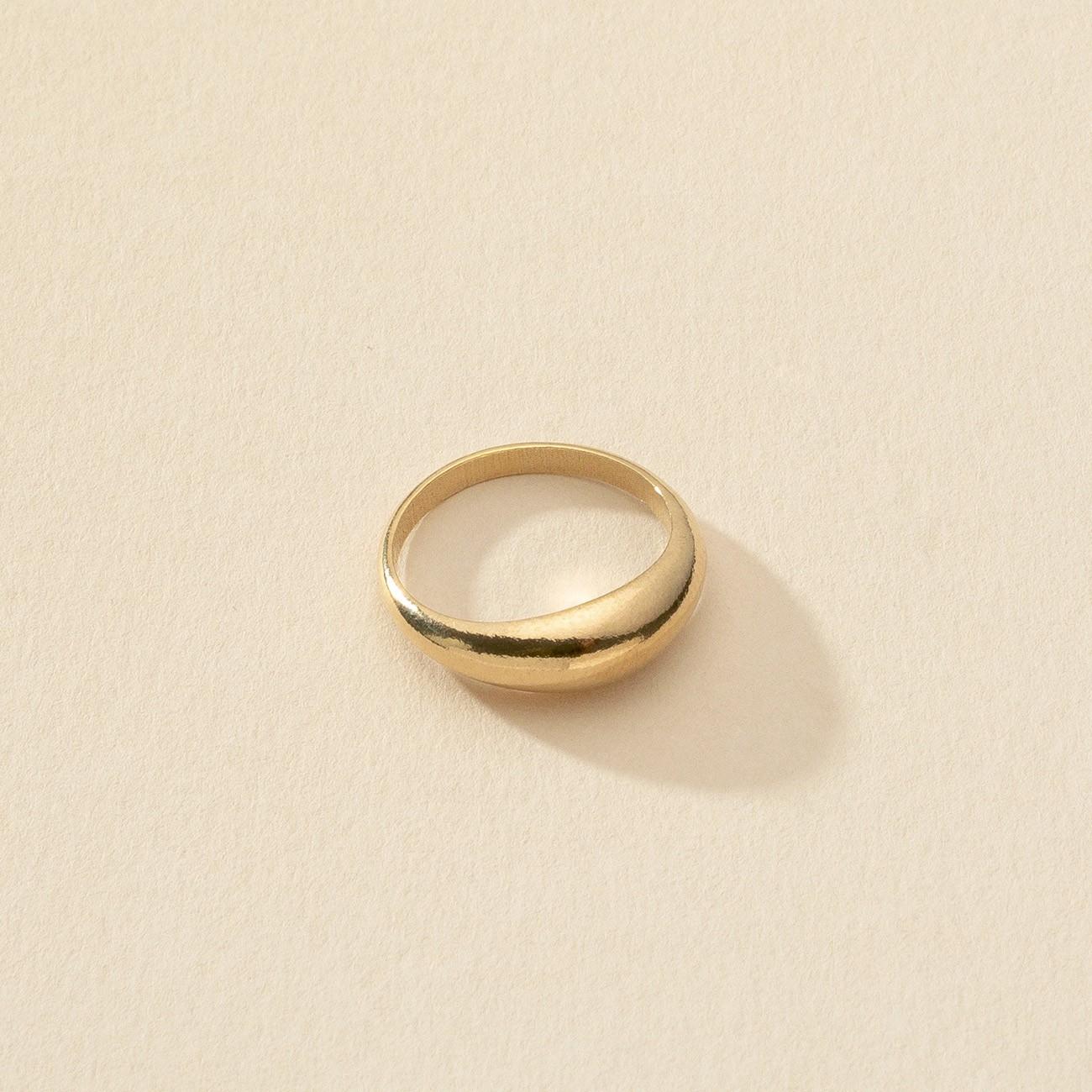 Delikatny owalny pierścień, srebro 925