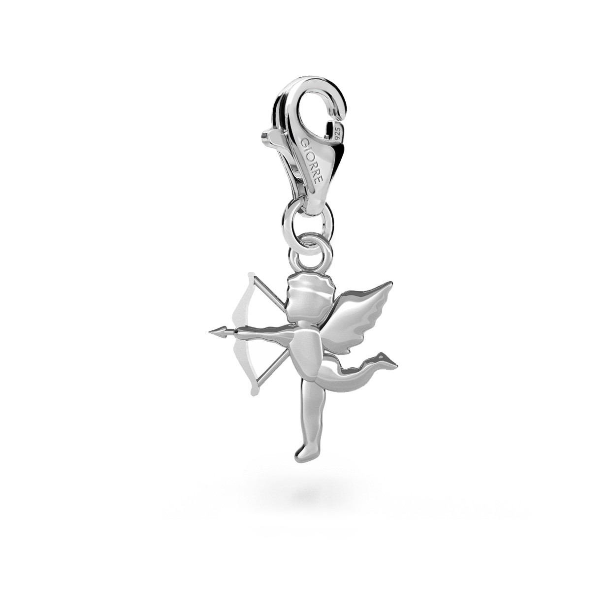 CHARM 22, AMOR, SILVER 925,  RHODIUM OR GOLD PLATED