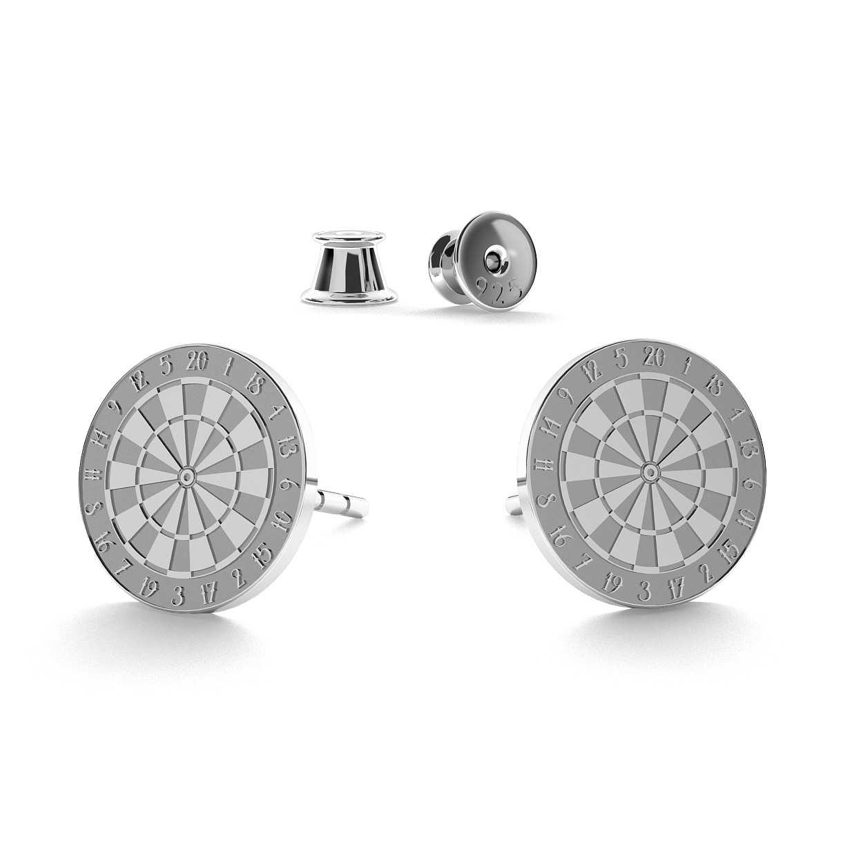 GIORRE DARTH CUP EARRINGS