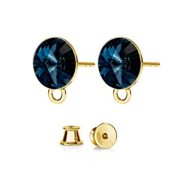 RIVOLI EARRINGS FOR CHARMS, SWAROVSKI