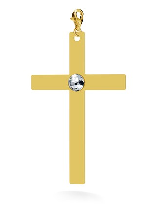 CHARMS 190, CROSS WITH SWAROVSKI