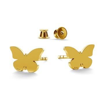Papillons boucles d'oreilles