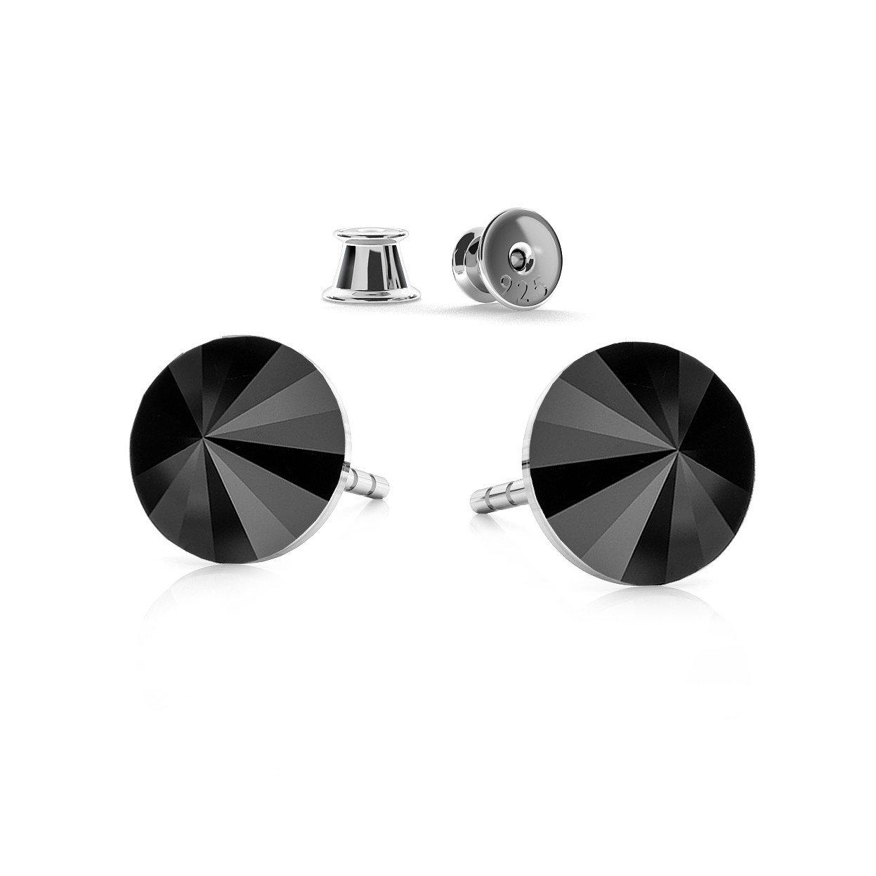 RIVOLI 6MM POST EARRINGS, SWAROVSKI