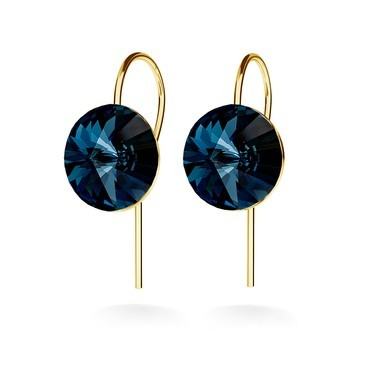 Pendientes de enganches rivoli 10mm, swarovski
