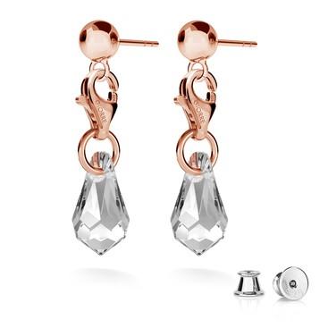 Boucles d'oreilles boulesi 5mm charms