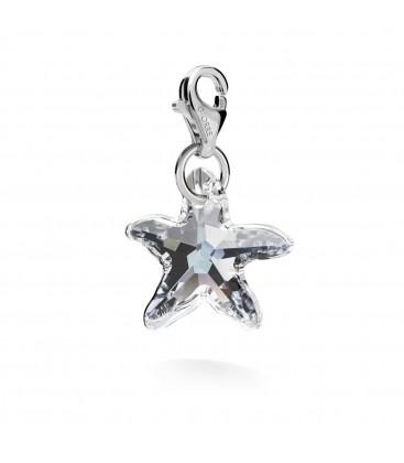 Srebrny charms kryształ swarovski 925