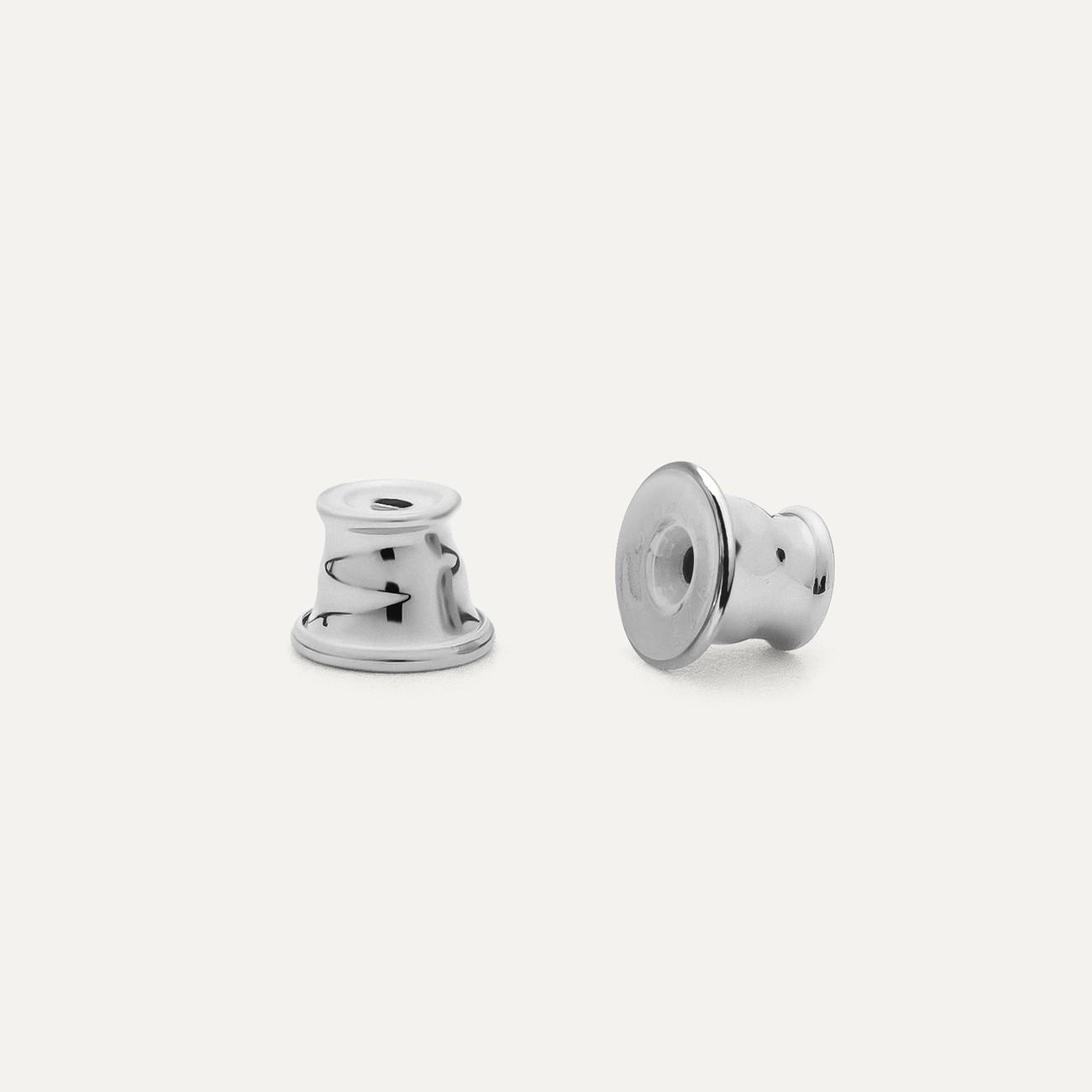 Silber zurück stopper Silber