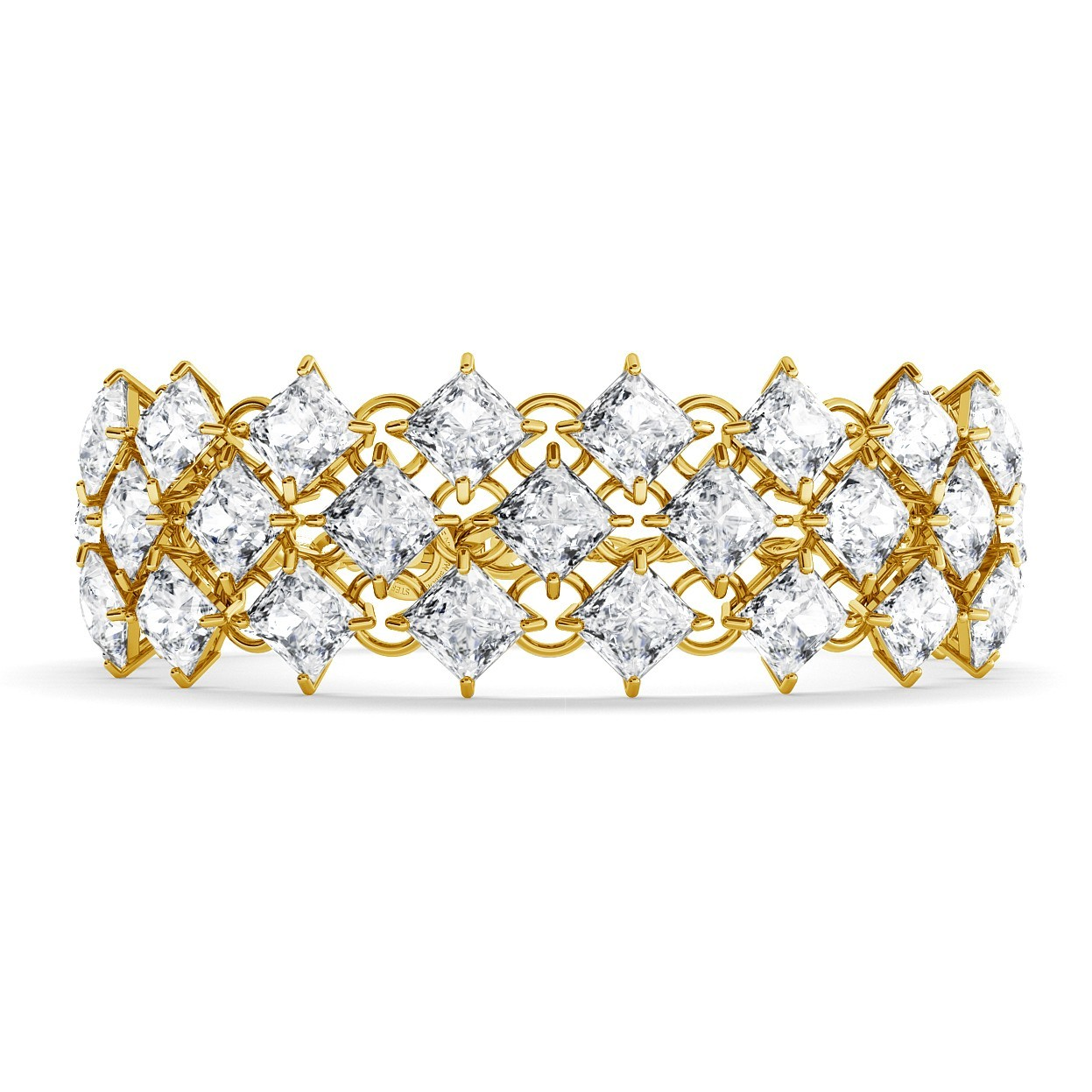 BRACELET WITH ZIRCONS, WEDDING JEWELLERY - MODEL 2
