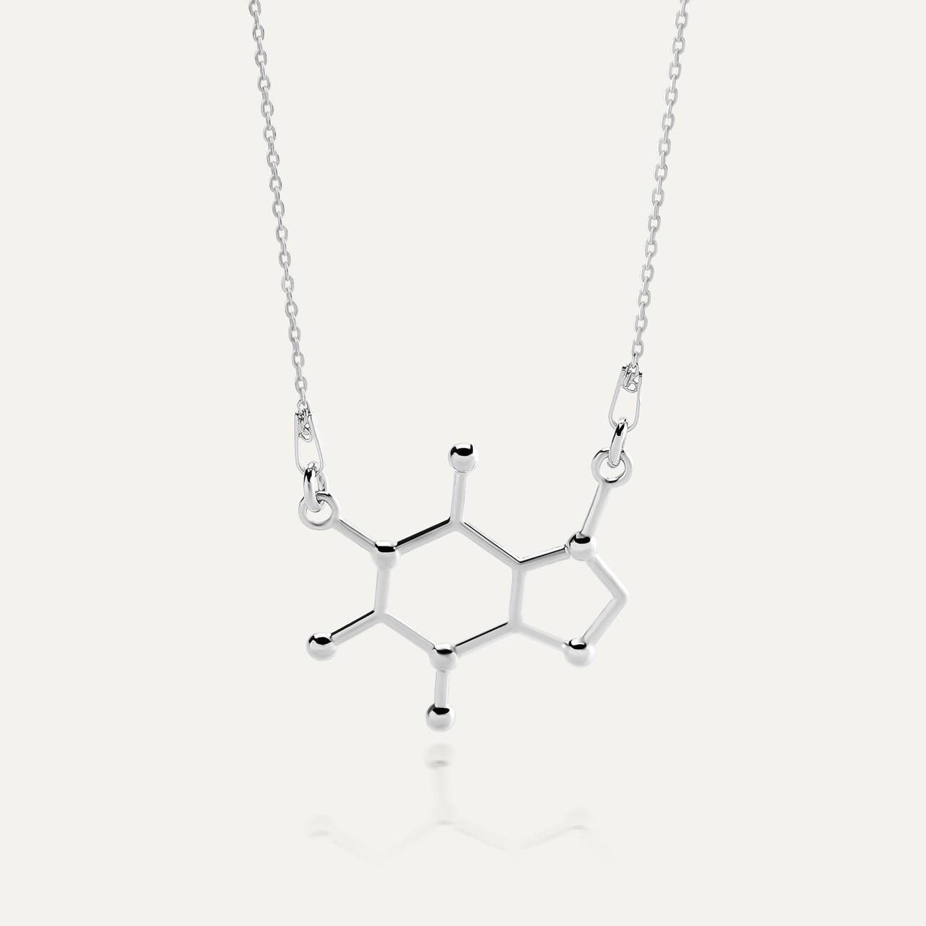 Halskette KOFFEIN chemische formel