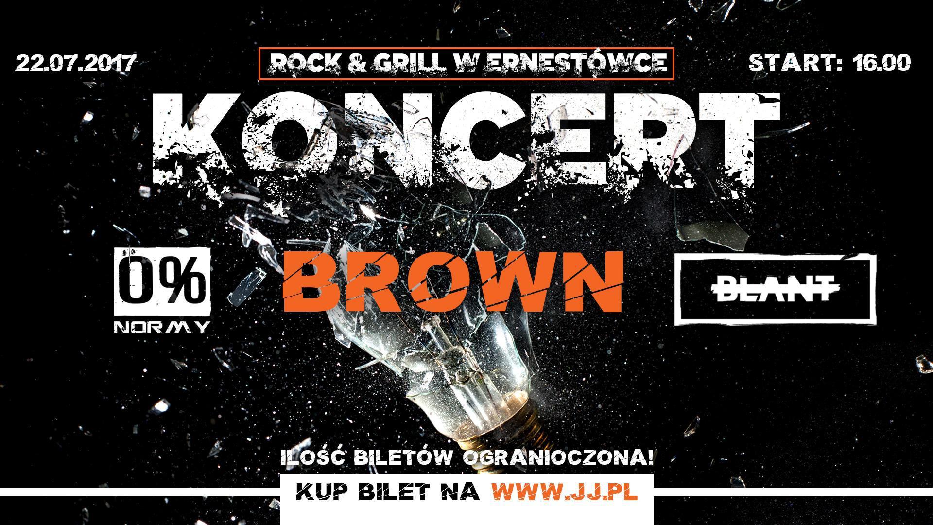 Bilet na ERNESTÓWKA Rock & Grill Festiwal Vol. 2