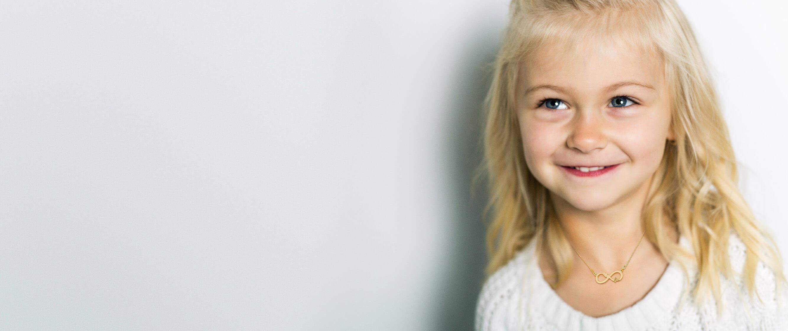 Srebrne naszyjniki dla dziecka