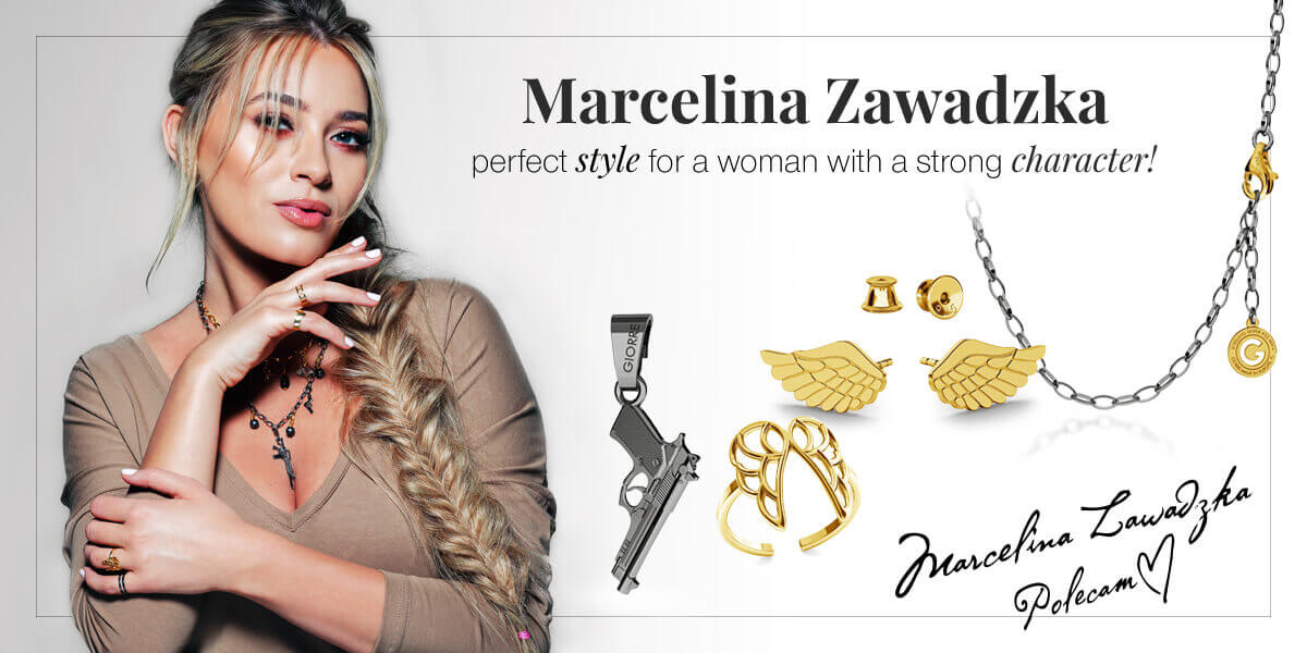Marcelina Zawadzka perfect style for a woman with a strong character