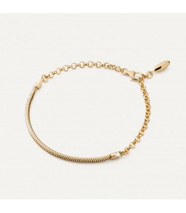 Sterling silver bracelet beads & charms base