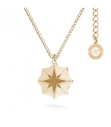 MON DÉFI Necklace - star, sterling silver 925
