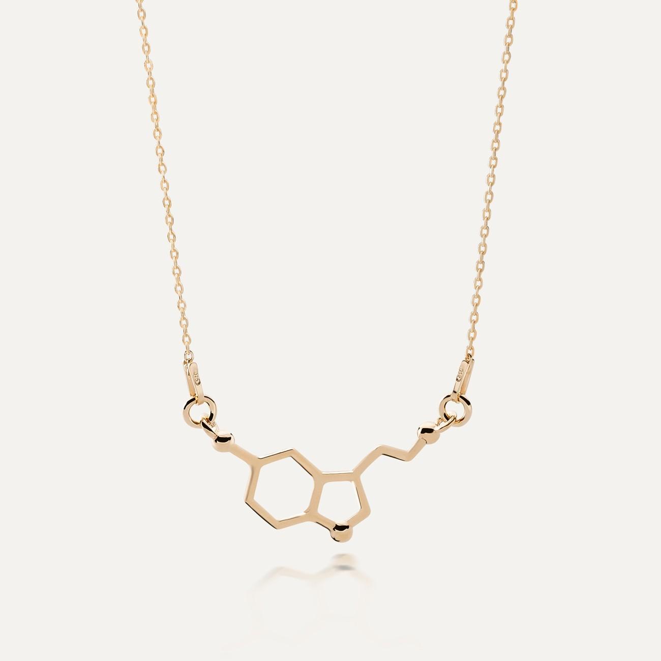Necklace serotonin chemical formula