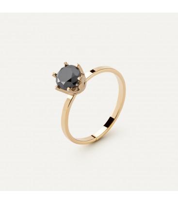 Diamond ring 6mm, silver 925 My RING™
